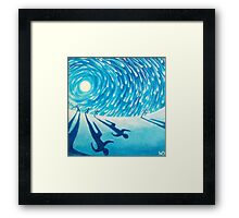 The Chase - Fine Art Painting Framed Print