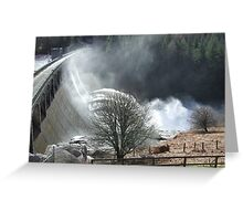 Feel The Force - Laggan Dam, Scotland Greeting Card