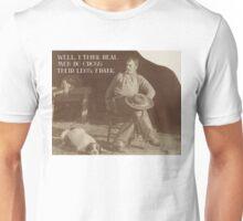 Manly Cowboy Unisex T-Shirt