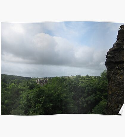 The View From Blarney Castle Poster