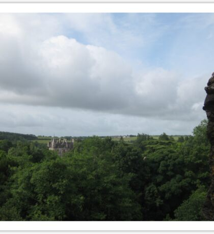 The View From Blarney Castle Sticker