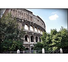 ROME - Colosseum at daylight # 1 - 10th October 2010 - Photographic Print