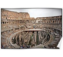 ROME - Colosseum at daylight # 2 - October 10th 2010 - Poster