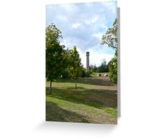 Veterans Memorial Bell Tower - Exeter - Rhode Island - US *featured Greeting Card