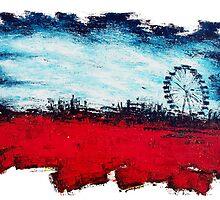 Luna Park Wheel-1 By VERNON SULLIVAN by vernonsullivan