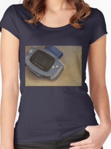 Gameboy Advance Women's Fitted Scoop T-Shirt