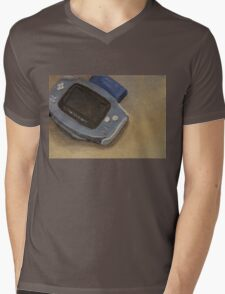 Gameboy Advance Mens V-Neck T-Shirt