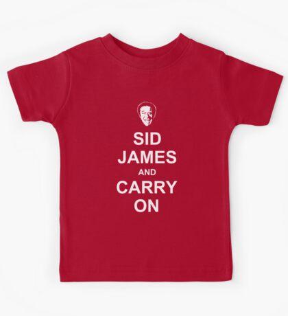 Sid James and Carry On Kids Tee