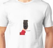 *holds puppy* *is hold* Unisex T-Shirt