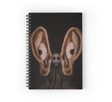 Hearing is Seeing Spiral Notebook