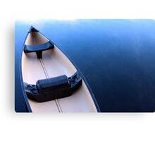 Canoe on Kennebec Lake, Arden Ontario Canvas Print