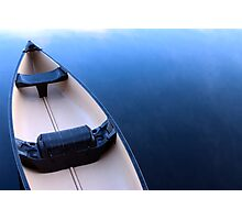 Canoe on Kennebec Lake, Arden Ontario Photographic Print