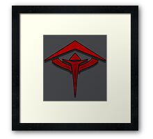 Guild Wars 2 Inspired Revenant logo Framed Print
