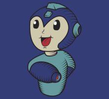 Cute Megaman by Gevork Sherbetchyan