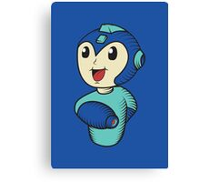 Cute Megaman Canvas Print