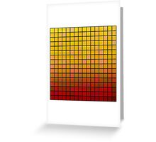 Color Grid 02 Greeting Card
