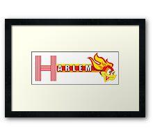 HARLEM SHIRT Framed Print