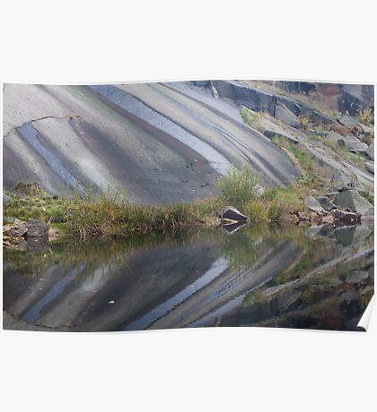 Granite And Pond 5 Poster