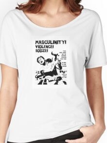 Masculinity! - Naturally Defective Women's Relaxed Fit T-Shirt