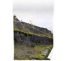 Granite Quarry Wall 3 Poster