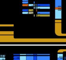 Star Trek TNG: Console Panel Sticker