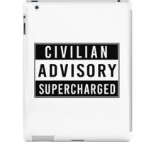 Advisory - supercharged iPad Case/Skin