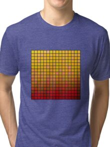 Color Grid 02 Tri-blend T-Shirt