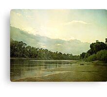 Shining Sunset Canvas Print