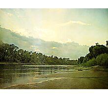 Shining Sunset Photographic Print