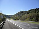 West Virginia Highway I-77 by Barberelli