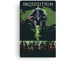 Dragon Age Inquisition Canvas Print