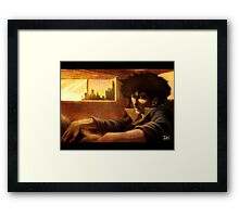 COWBOY BEBOP-- DAY IN THE LIFE Framed Print
