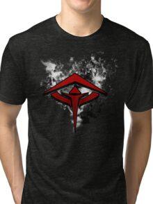 Guild Wars 2 Inspired Revenant flame logo Tri-blend T-Shirt