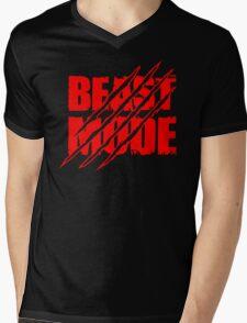 Beast Mode  Mens V-Neck T-Shirt