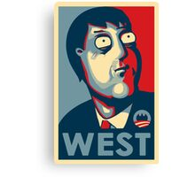 West 'Hope' Poster Canvas Print