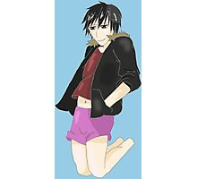 Izaya in Pastel Shorts Photographic Print