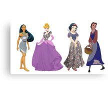 Pretty Little Princesses Metal Print