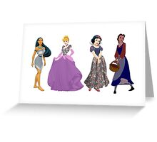 Pretty Little Princesses Greeting Card