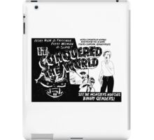 It conquered the world! - Naturally defective iPad Case/Skin