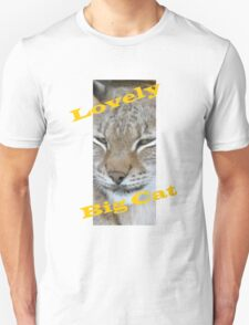 Big Cat & Colours. T-Shirt