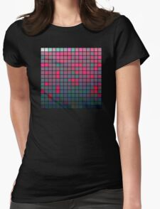 Color Grid 05 Womens Fitted T-Shirt