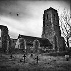 Covehithe Church, Suffolk by DaveTurner