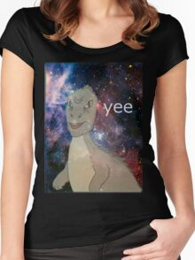 Cosmic Yee Women's Fitted Scoop T-Shirt