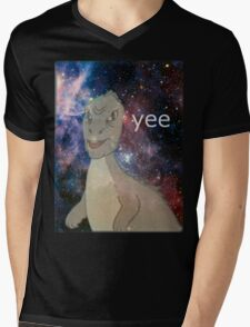 Cosmic Yee Mens V-Neck T-Shirt