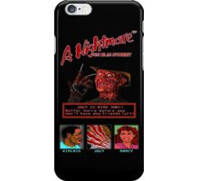 A Nightmare on Elm Street Pixel Poster iPhone Case/Skin