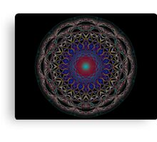 Geode on a Grecian Urn, or Mystic Pizza Canvas Print