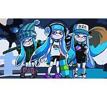 Squid Girl Squad Photographic Print