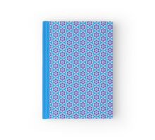 Pattern 501 - Blue & Red Hardcover Journal