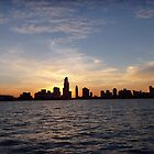 Sunset Harbor CHICAGO by Diane Trummer Sullivan