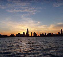 Sunset Harbor CHICAGO by Diane Trummer Sullivan
